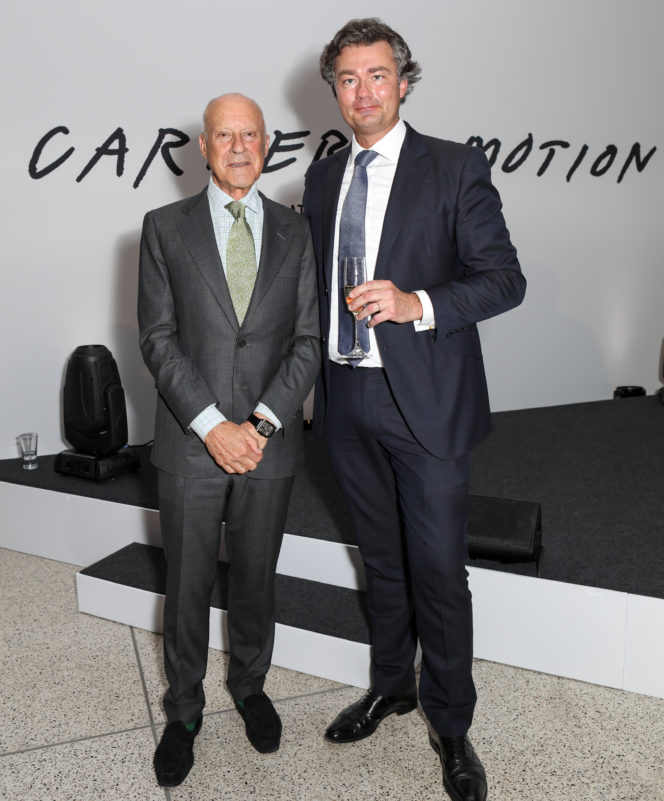 DIARY: The opening of Cartier in Motion