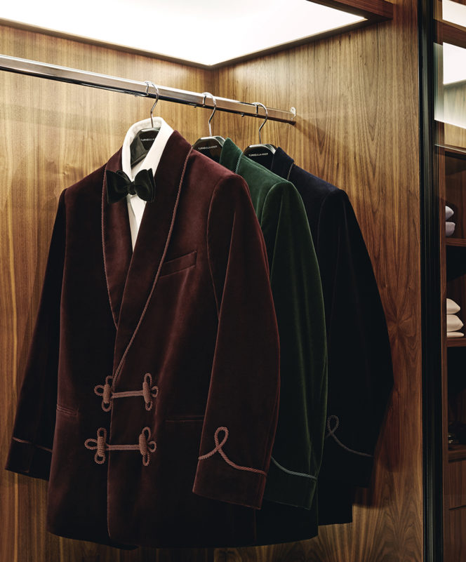 Get to know the fiery history of the smoking jacket