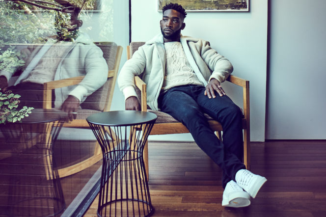 Tinie Tempah by Gary Houlder for Gentleman's Journal