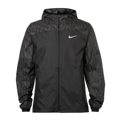 nike running jacket in grey