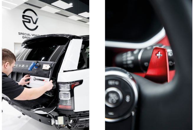 Behind the scenes at Jaguar Land Rover's commissioning suite