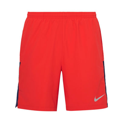 Nike gym shorts in red