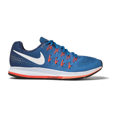 Nike running trainers in blue