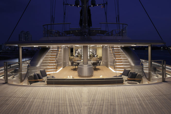 sybaris sailing yacht is up for sale the gentleman 39 s journal. Black Bedroom Furniture Sets. Home Design Ideas