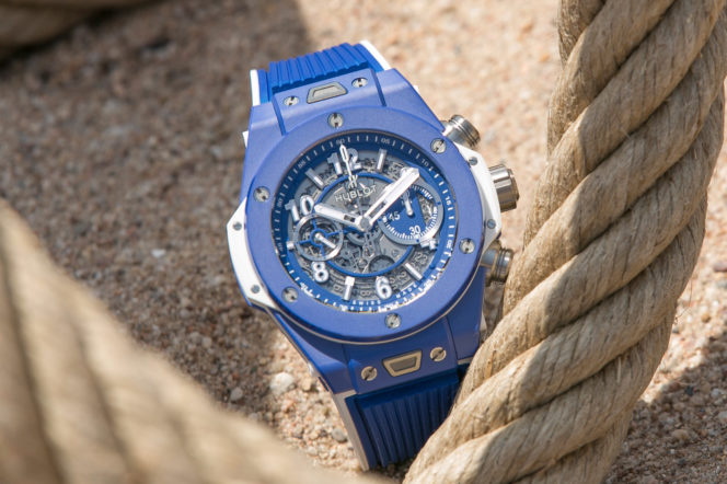 Hublot's new Big Bang is blue-sky thinking