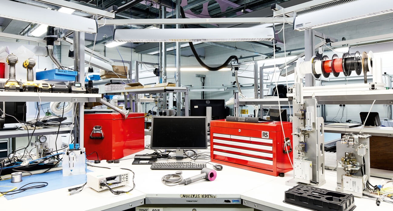 The Dyson factory