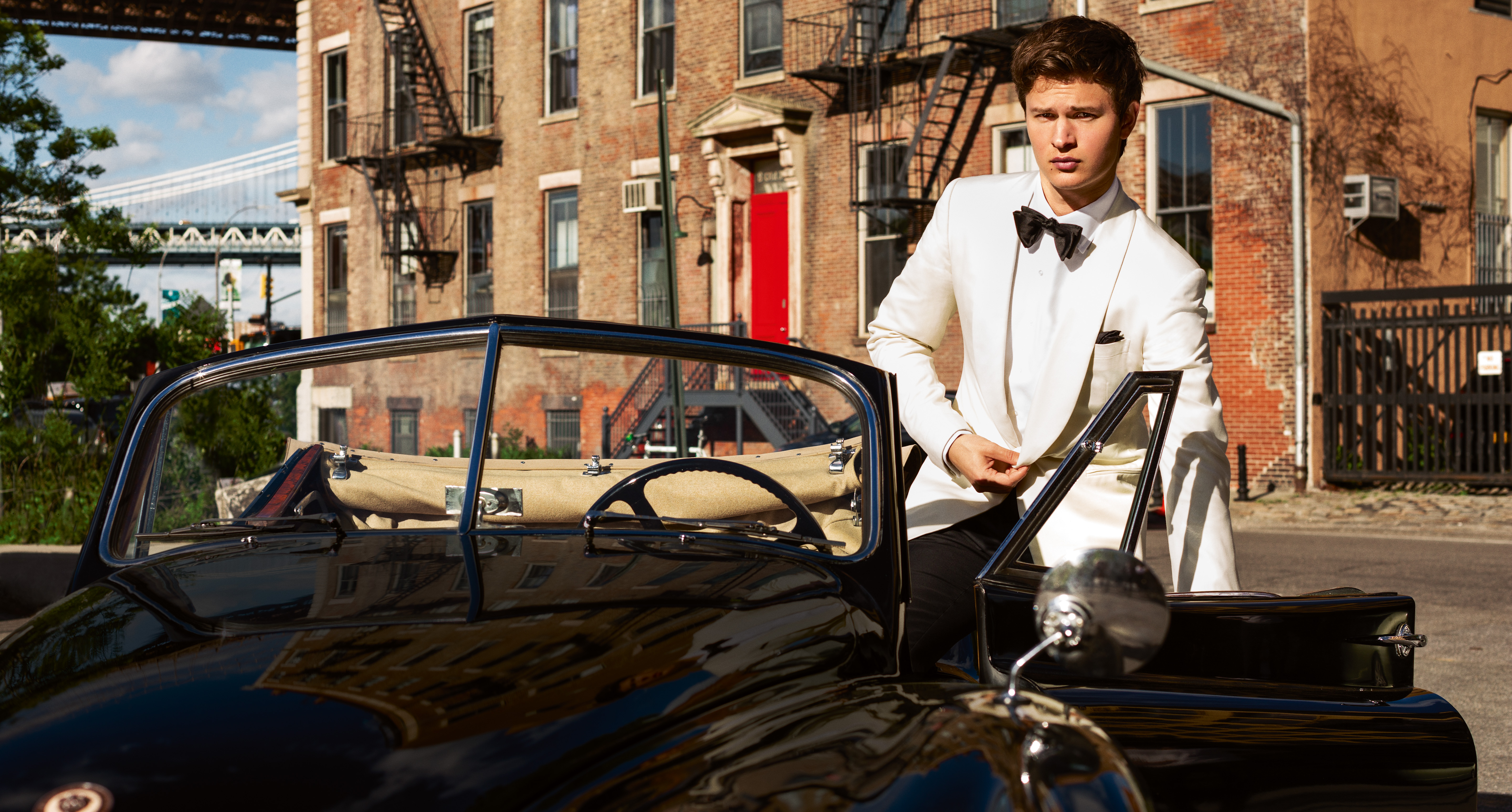 Ansel Elgort interview