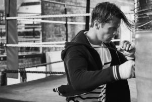 Boxing shoot photographed by Josh Shinner 2017