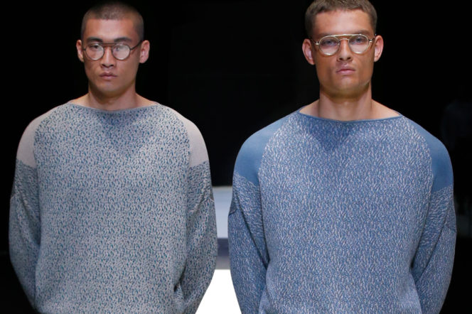 Giorgio Armani's SS18 collection is simple yet sophisticated