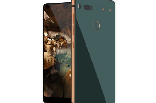Essential Phone PH-1 tech