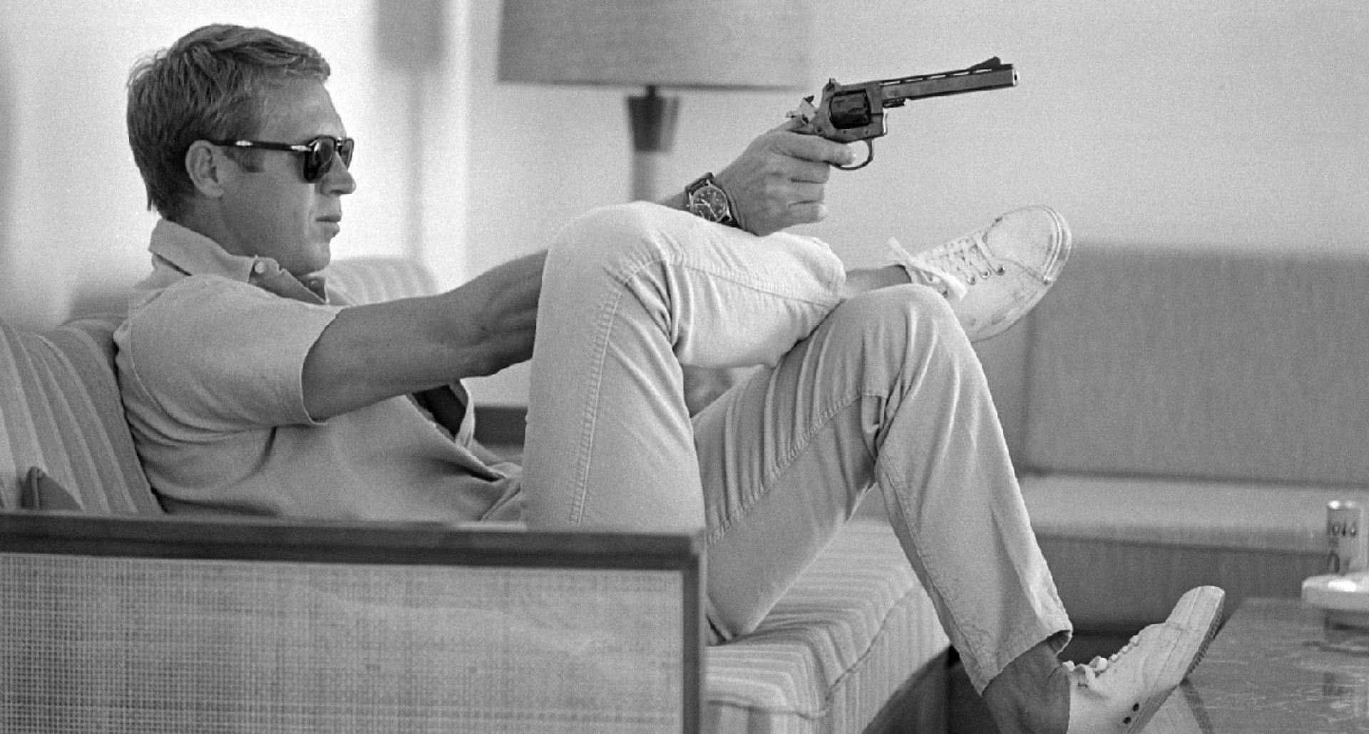 The story behind Steve McQueen's revolver