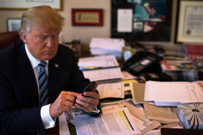 If President Trump quits Twitter it will be a loss for politics
