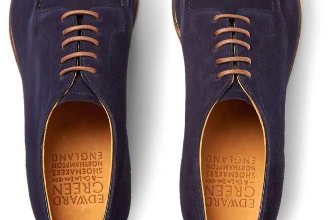 The Pick: The blue suede dress shoes to make a summer statement