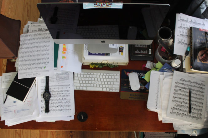 How to reorganise your work desk