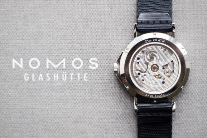 Nomos Glashutte Aqua Ahoi Datum watch review: Elegant, new and very, very blue