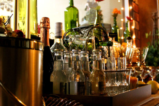 How to create the ultimate home bar