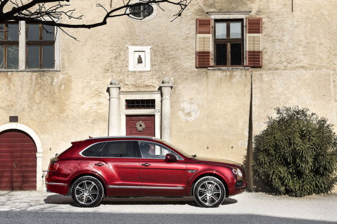 We took a Bentley Bentayga on an autumn Alpine roadtrip
