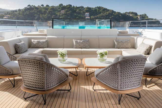 Seven Sins is the saintliest yacht at the Monaco Yacht Show