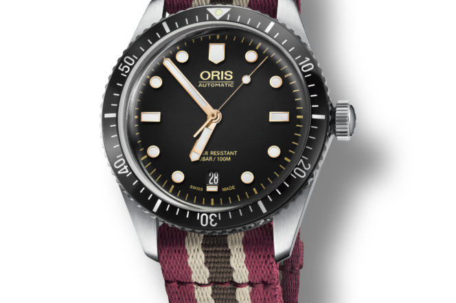 Swiss watchmaker Oris reveals new Diver Sixty-Five for Movember