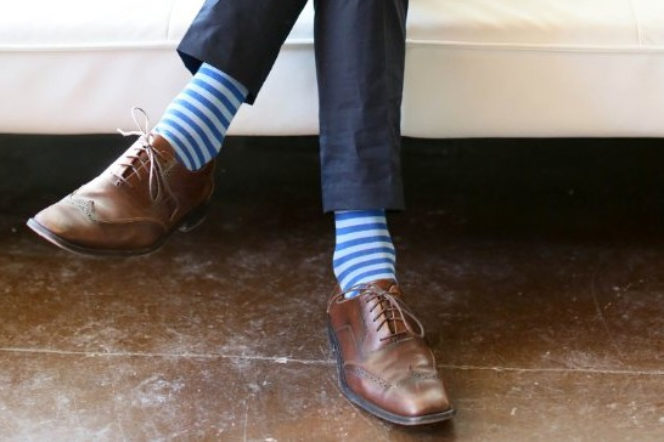 You should be paying more attention to your socks
