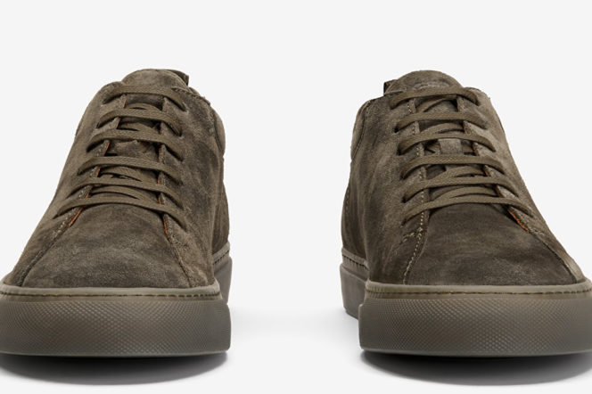 The Pick: The strong suede sneakers from Scandinavia