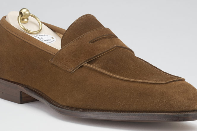 The Pick: The classic loafer reinvented in tobacco suede