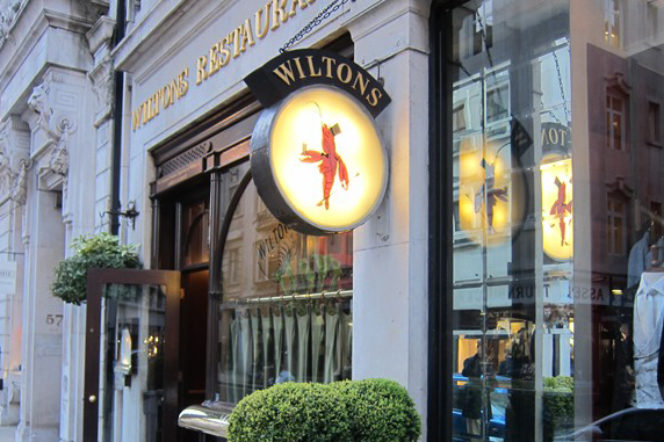 London institution Wiltons is 275 years old