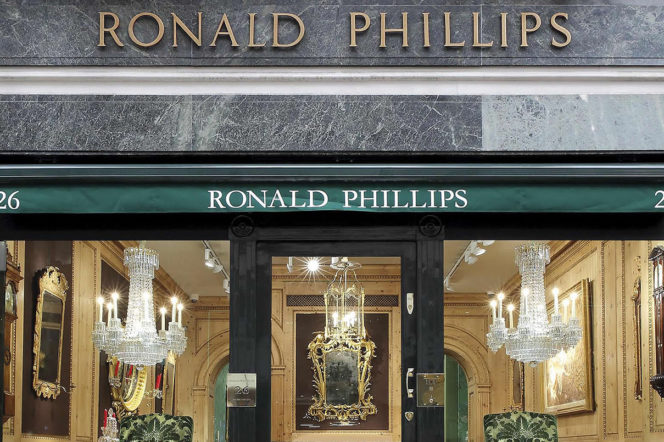 Ronald Phillips: Exploring the finest antiques store in London