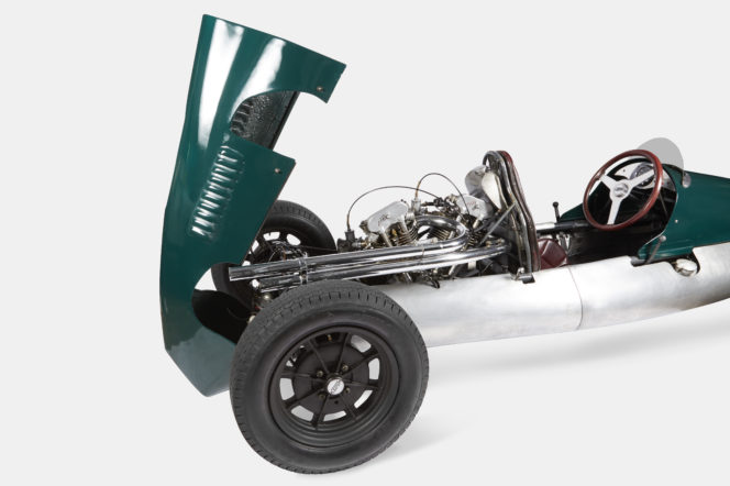 Paul Smith's No. 9 Albemarle Street puts a historic 1950s Cooper racing car up for sale