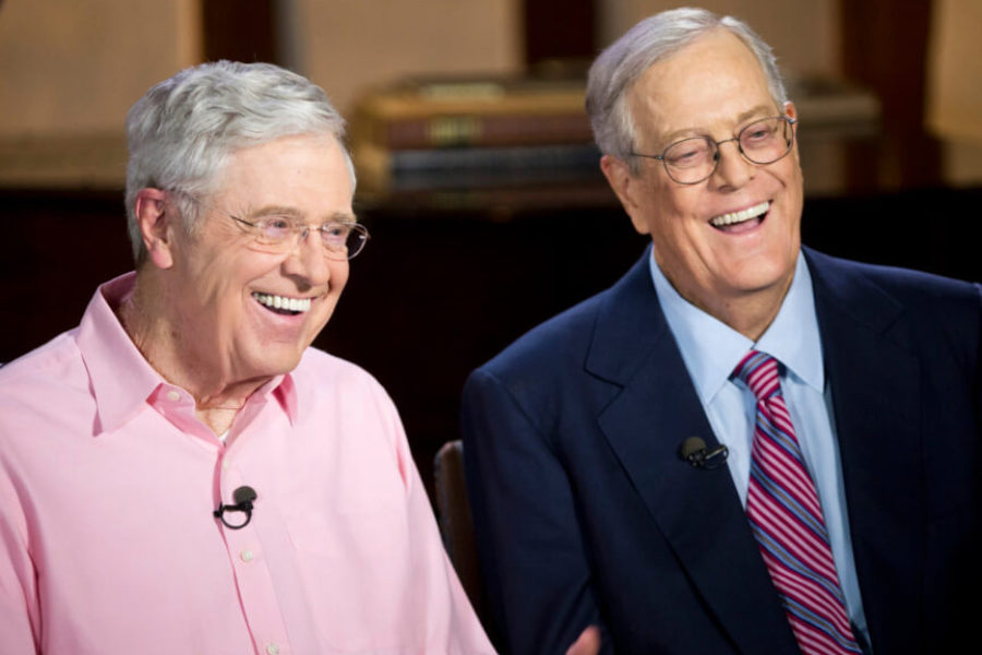 Charles David Koch We Know Who You Are >> Charles David Koch Run The Republican Party Gentleman S Journal