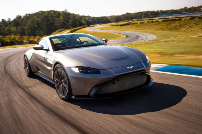 Introducing the 2018 Aston Martin Vantage