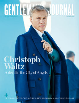 Latest Issue out now with Christoph Waltz