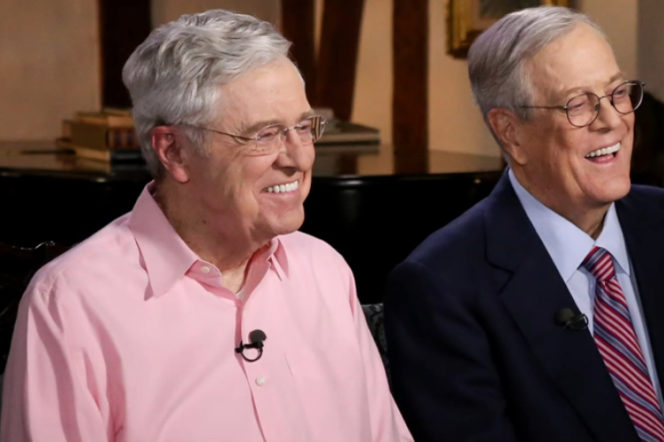 Charles & David Koch: Run the Republican Party | Gentleman's