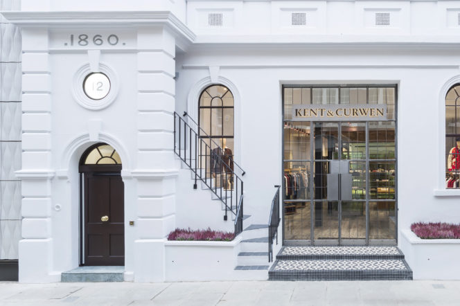 Kent & Curwen reveal a new iconic design for their flagship store