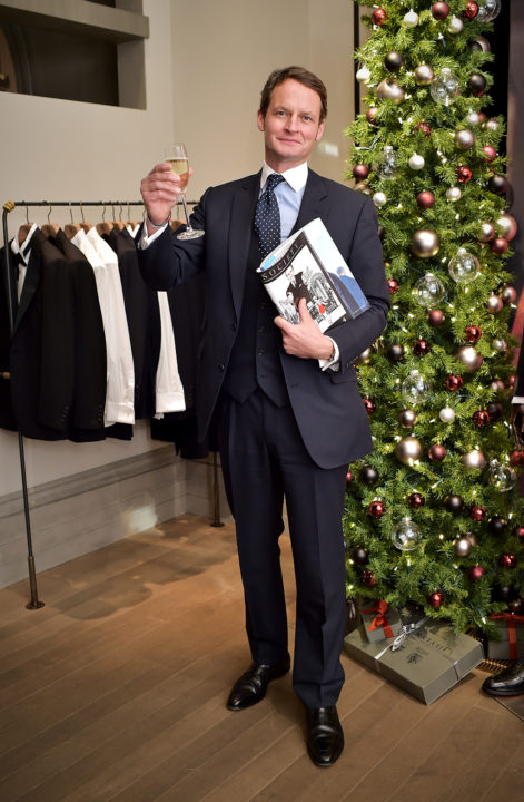 Gentleman's Journal celebrate 5th Anniversary at Gieves & Hawkes