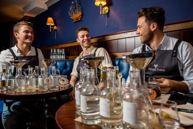 Fever-Tree​ ​Launches​ ​Seasonal​ ​Gin​ ​School​ ​at​ ​Merchant​ ​House