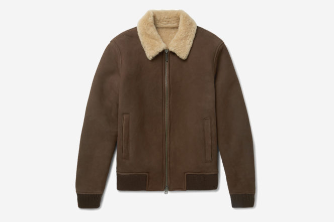 5 of the best shearling jackets for men