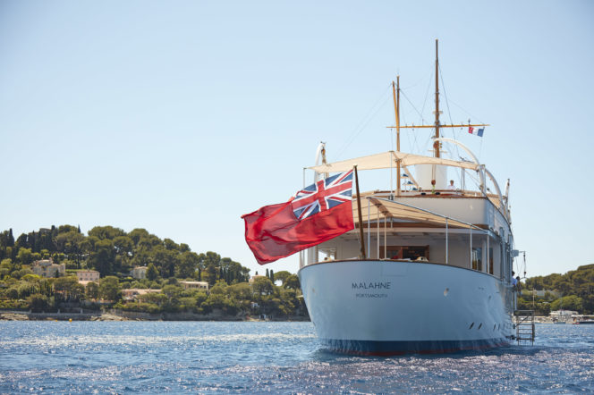 Malahne is a superyacht with true star quality