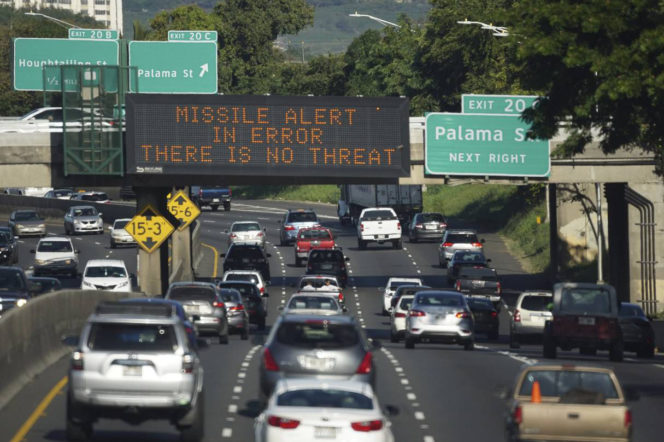 Why the false Hawaii alert could've been a world and political disaster