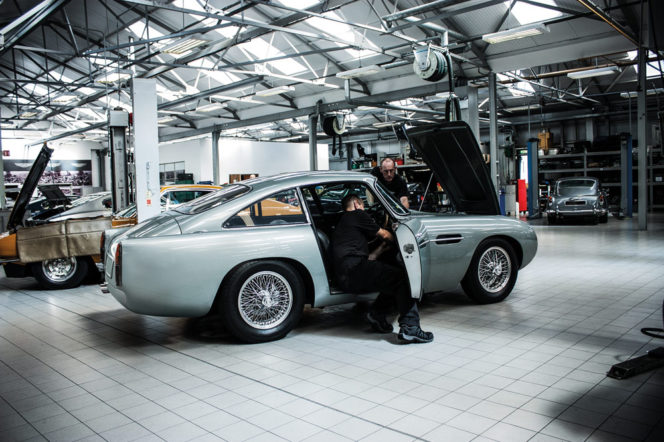 Aston Martin's first new DB4 GTs have arrived