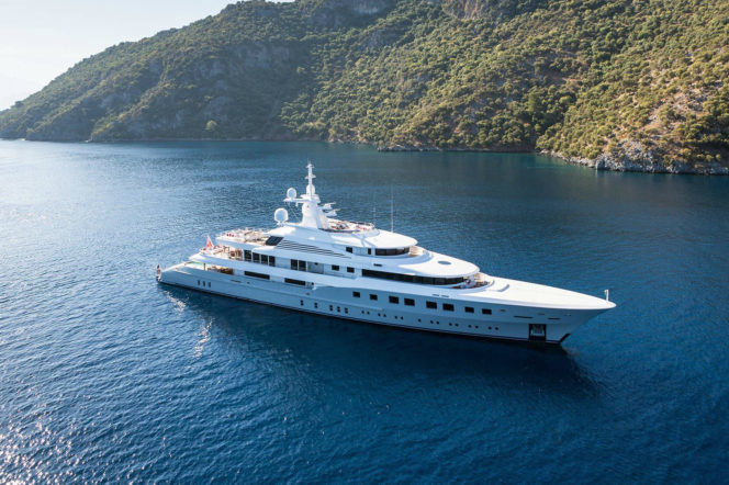 The best yachts to charter in 2018
