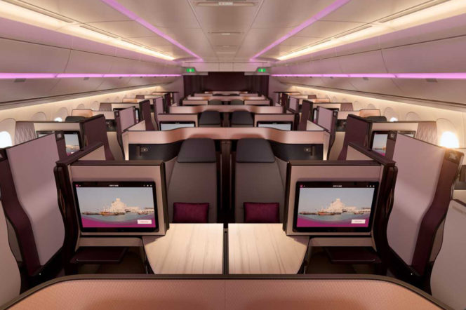Which airline has the best luxury cabin?