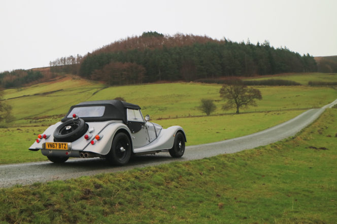 The Morgan Plus 4 is a Great British sports car