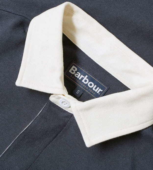 barbour rugby shirt