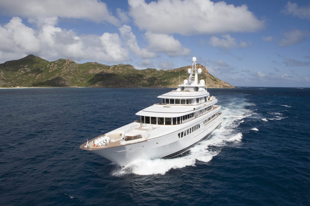 Why superyacht Utopia is heaven on water
