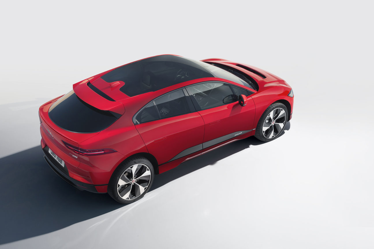 The Jaguar I-PACE is charging to the top of its field