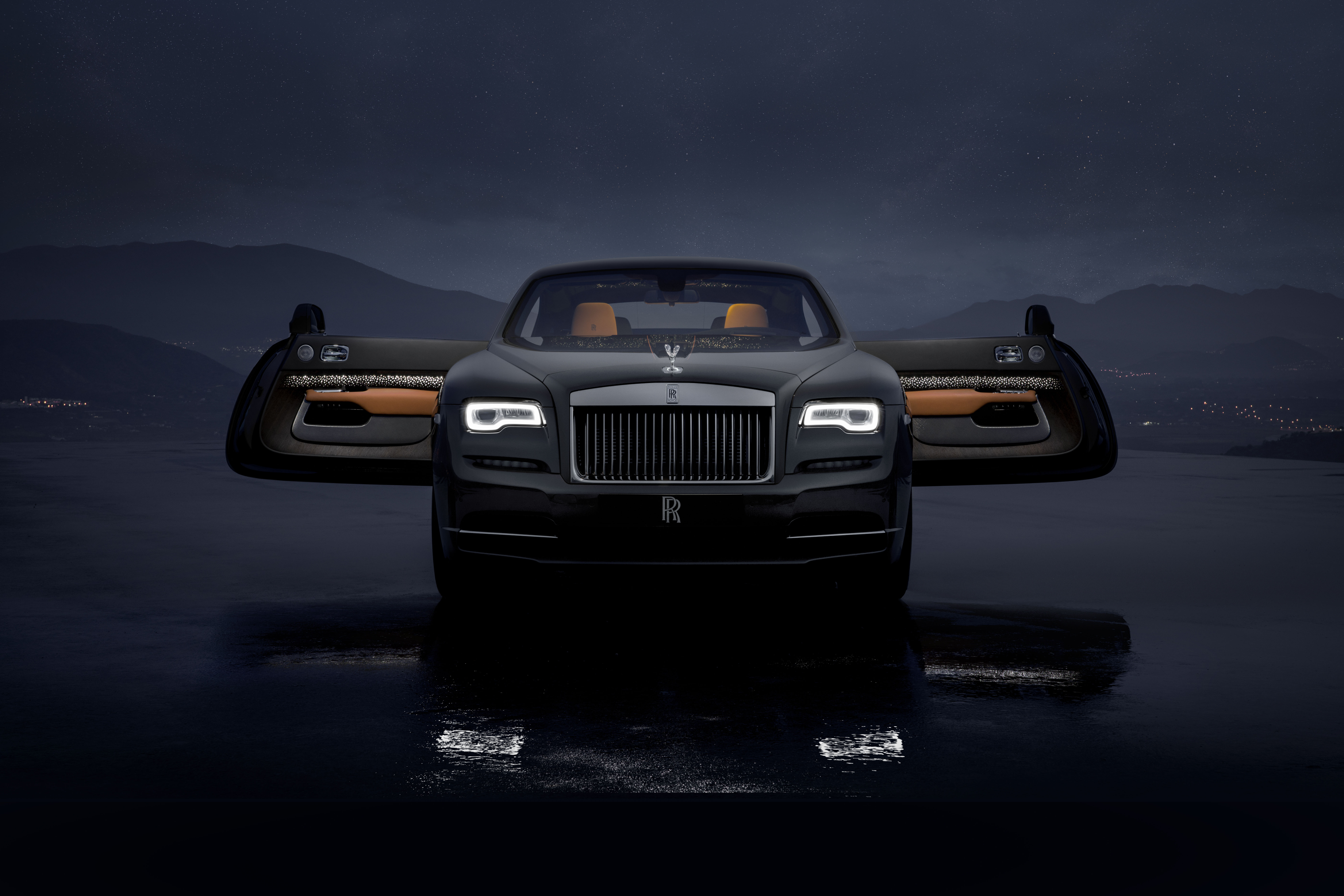Rolls Royce Light Up The Bespoke Sector With The Wraith