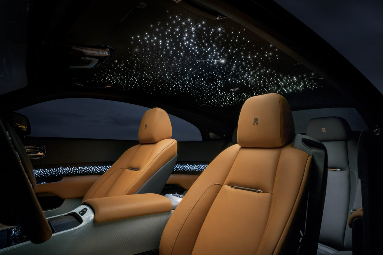 Rolls-Royce light up the bespoke sector with the Wraith Luminary Collection