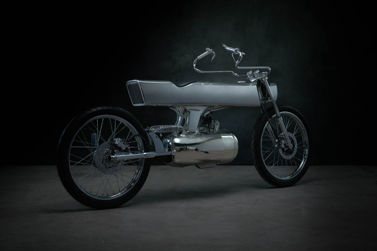 Bandit9's L-Concept bike is a two-wheeled piece of art