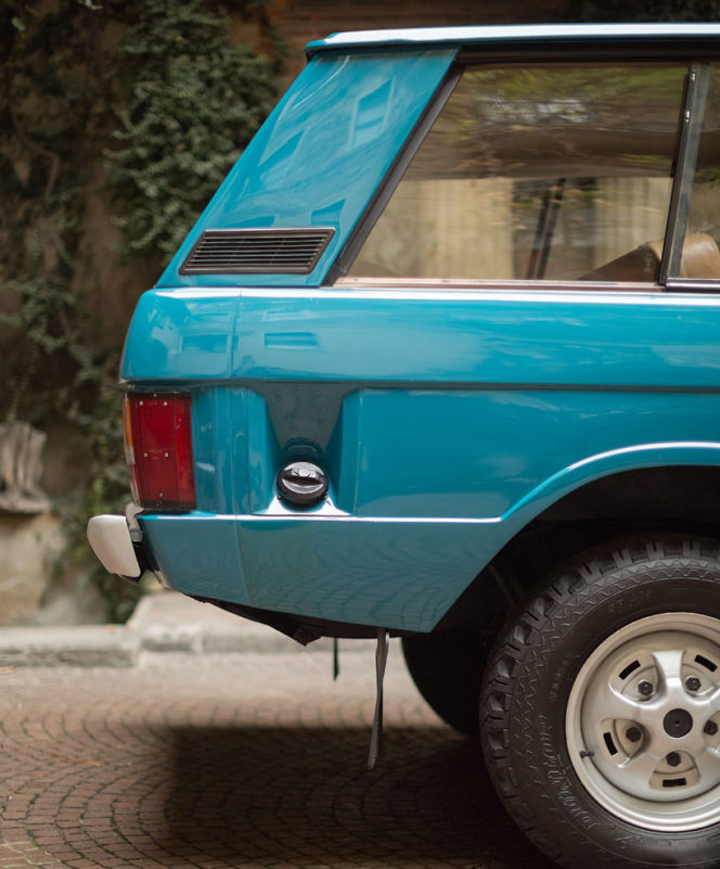 This 1972 Range Rover is a vintage delight